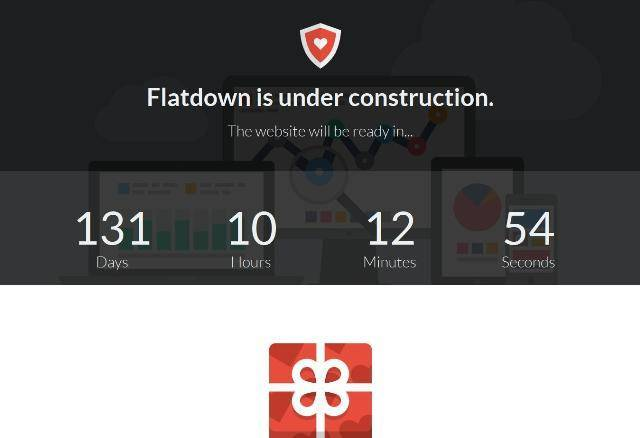 Flatdown Coming Soon MODX Theme