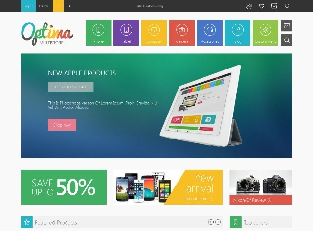Optima Multipurpose Responsive Prestashop Theme