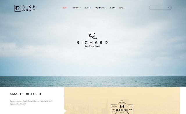 Richard Theme - Blog, Portfolio & Business