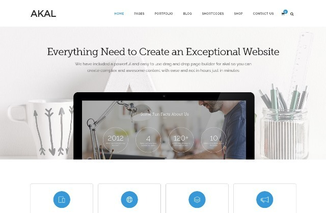 Akal Multipurpose WordPress Theme