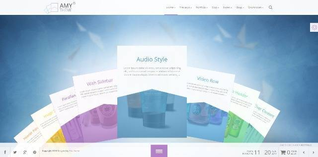 AMY Theme Creative Multi-Purpose WordPress Theme