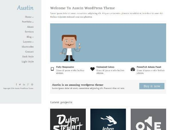 Austin Creative Multi-Purpose WordPress Theme