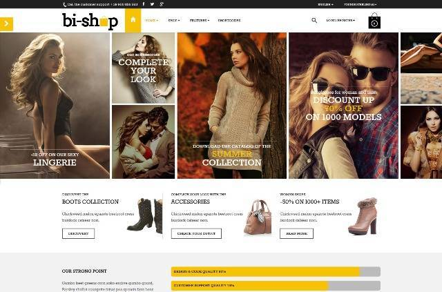 Bi-Shop All In One Ecommerce & Corporate theme
