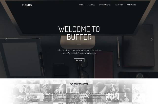 Buffer Responsive Multipurpose WordPress Theme
