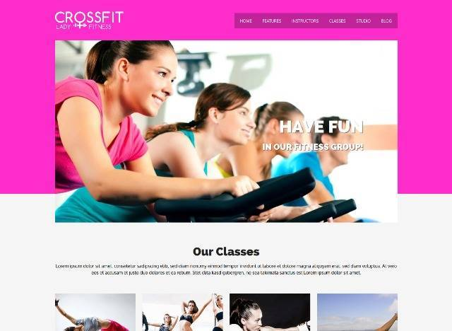 Crossfit Responsive WordPress Sport & Gym Theme
