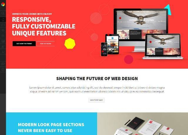 Enjooy Responsive Multi-Purpose WordPress Theme