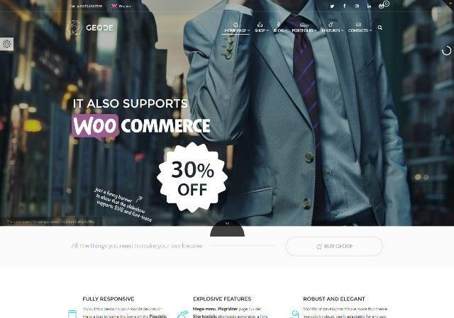 Geode eCommerce Multipurpose Theme