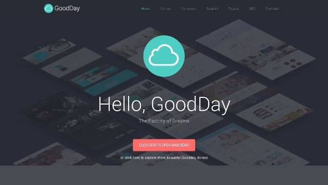 GoodDay Multi-Purpose Responsive WordPress Theme