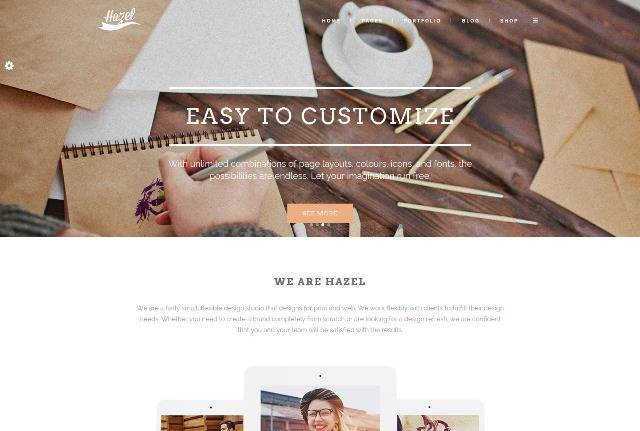 Hazel Ultimate Creative WordPress Theme