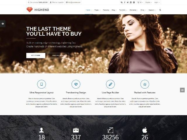 Highend Ultimate Multi-Purpose WordPress Theme