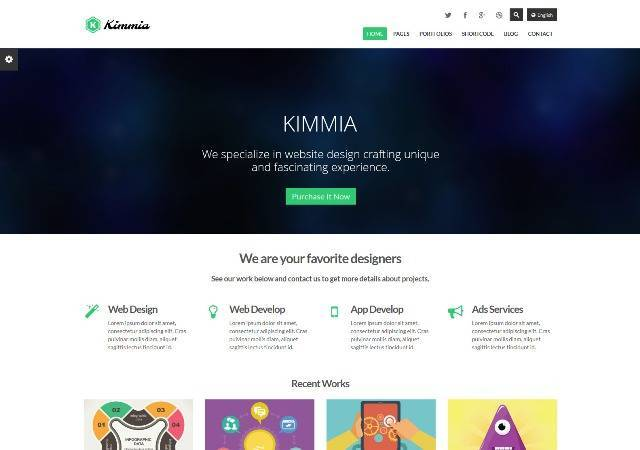 Kimmia 2.0 Retina Responsive WordPress Theme