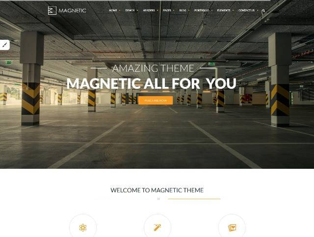 Magnetic Creative Responsive Multi-Purpose Theme