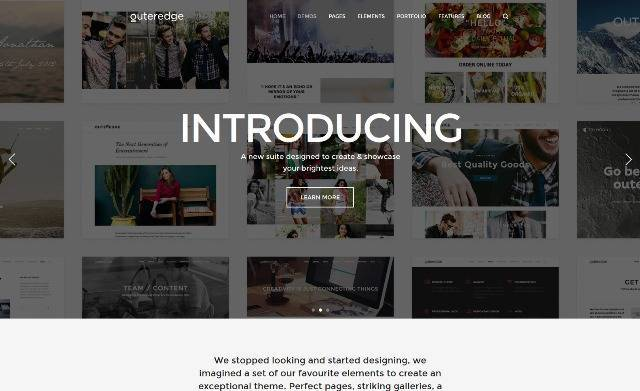 Outeredge Responsive Multi-Purpose Theme