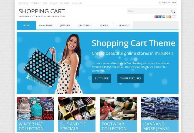 Shop Theme Responsive Shop Theme for WordPress