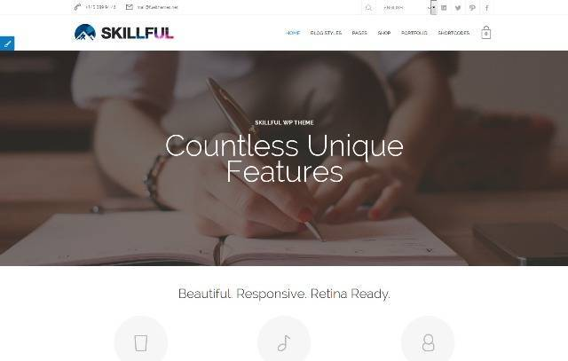 Skillful Responsive Multi-Purpose Theme
