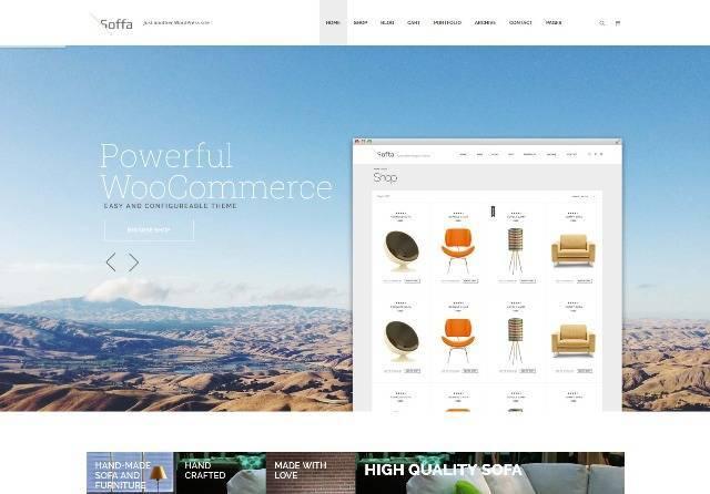 Soffa Furniture & Bussiness WordPress Theme