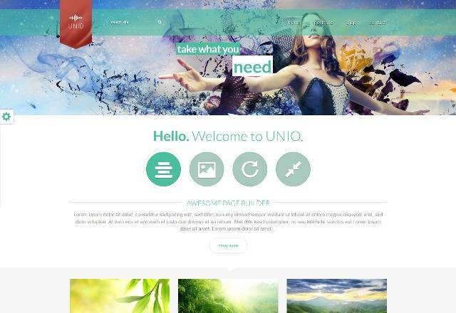 UNIO Responsive WordPress Theme