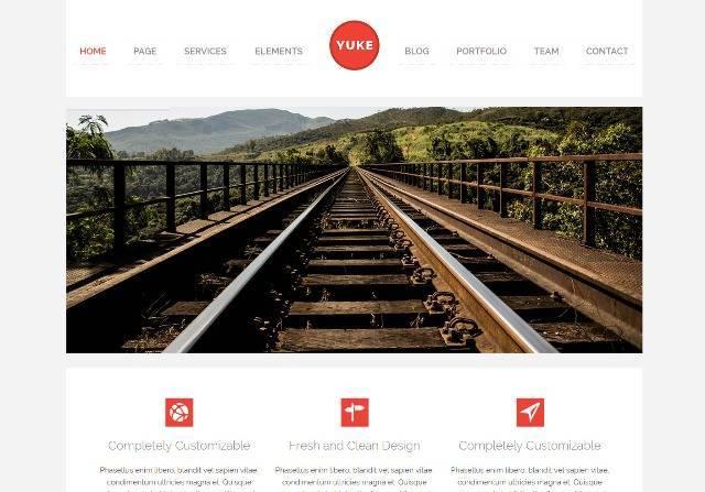 Yuke WordPress Theme for Corporate