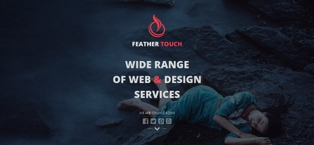 Feather Touch Under Construction Template