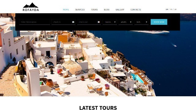 Rofayda Multipurpose Travel HTML template