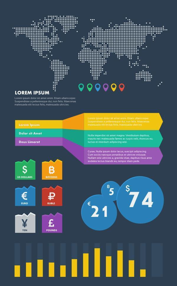 Financial Information Graphic Elements