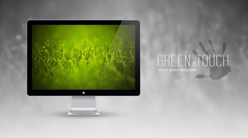 Green Touch Wallpaper