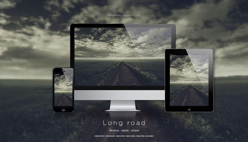 Long Road Wallpaper