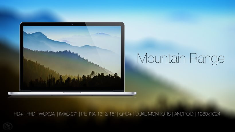 Mountain Range Wallpaper