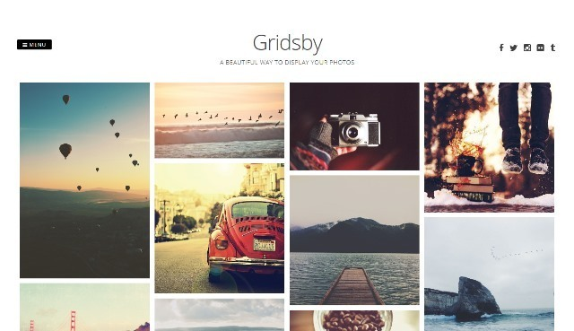 Gridsby Free WordPress Theme