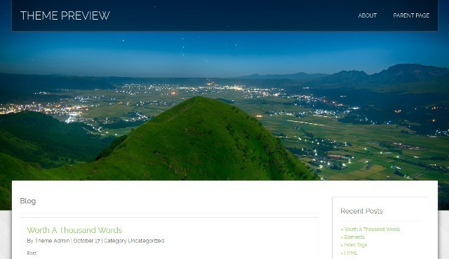 Honma Responsive WordPress theme
