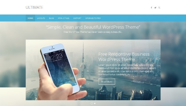 Ultimate Business WordPress Theme