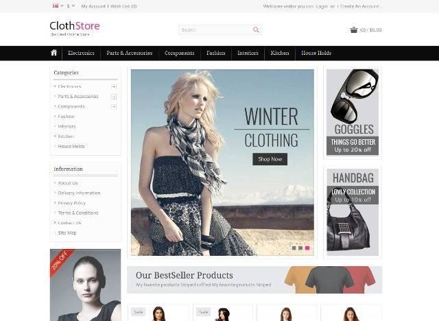 ClothStore