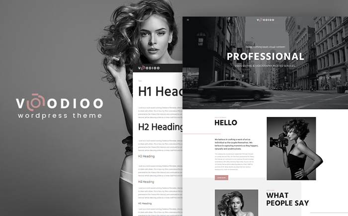 Videography Services WordPress Theme