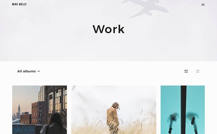 Siena - Aesthetic Photography Portfolio WordPress Theme
