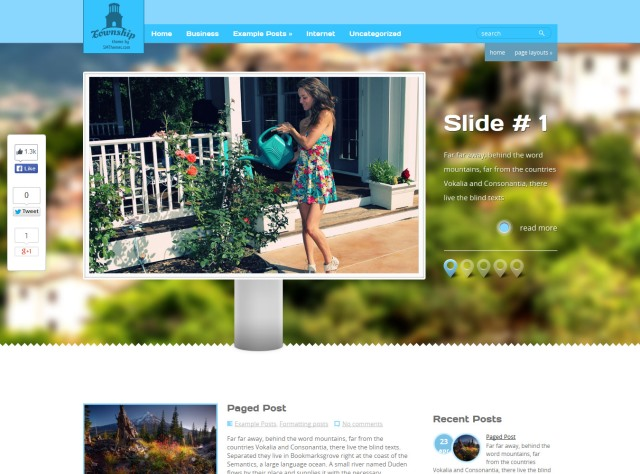 Township Free Real Estate WordPress Theme