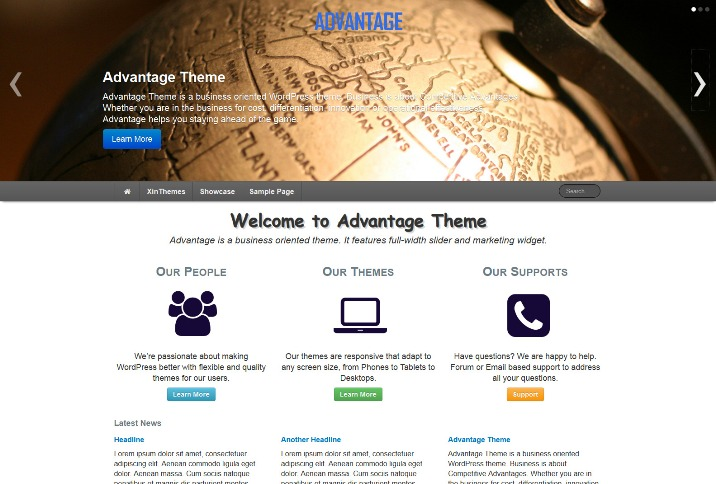 Advantage Theme