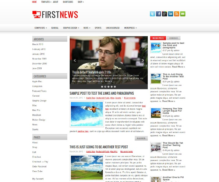 FirstNews