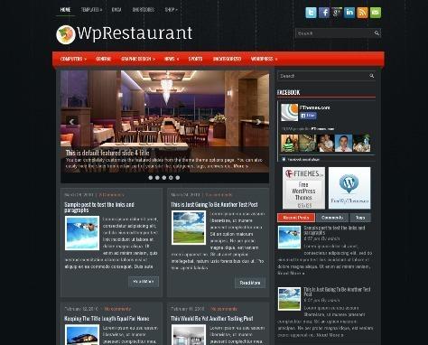 WpRestaurant